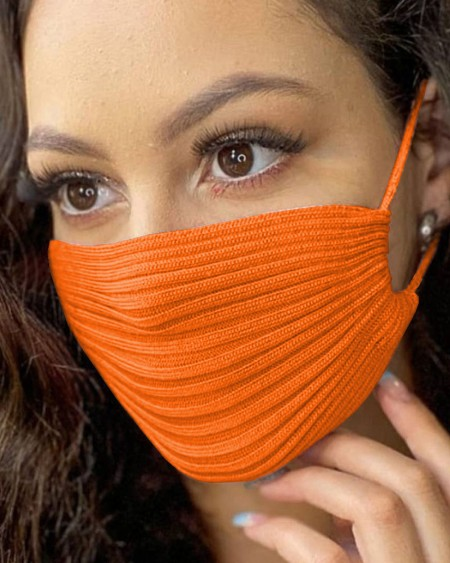 Breathable Plain Cotton Face Mask