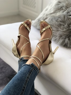 Sexy Crisscross Cocktail Party Thin Sandals
