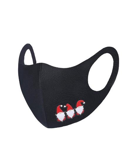 Christmas Mixed Print Breathable Face Mask