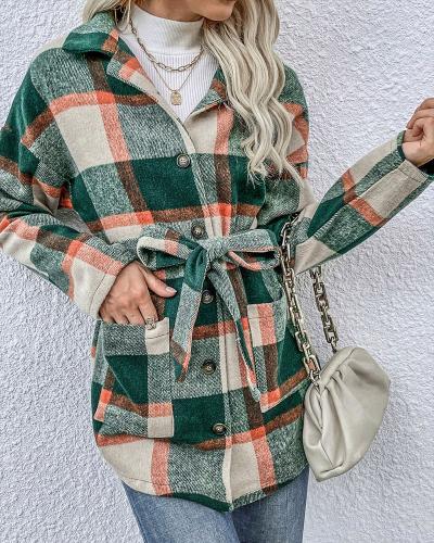 Plaid clothing