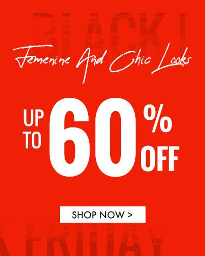 Feminine And Chic Looks Up to 60%off