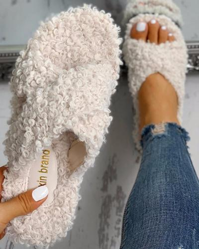 Fluffy Slippers