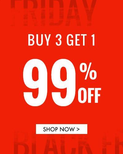 Buy 3 Get 1 99% off