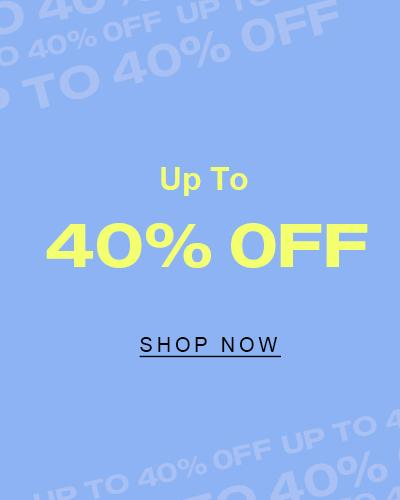 All 40% OFF