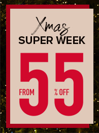 Xmas Super Week 55% Off
