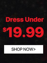 Dress All Under $19.99