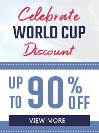 Celebrate World Cup Discount