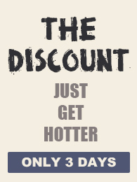 The Discount Just Get Hotter
