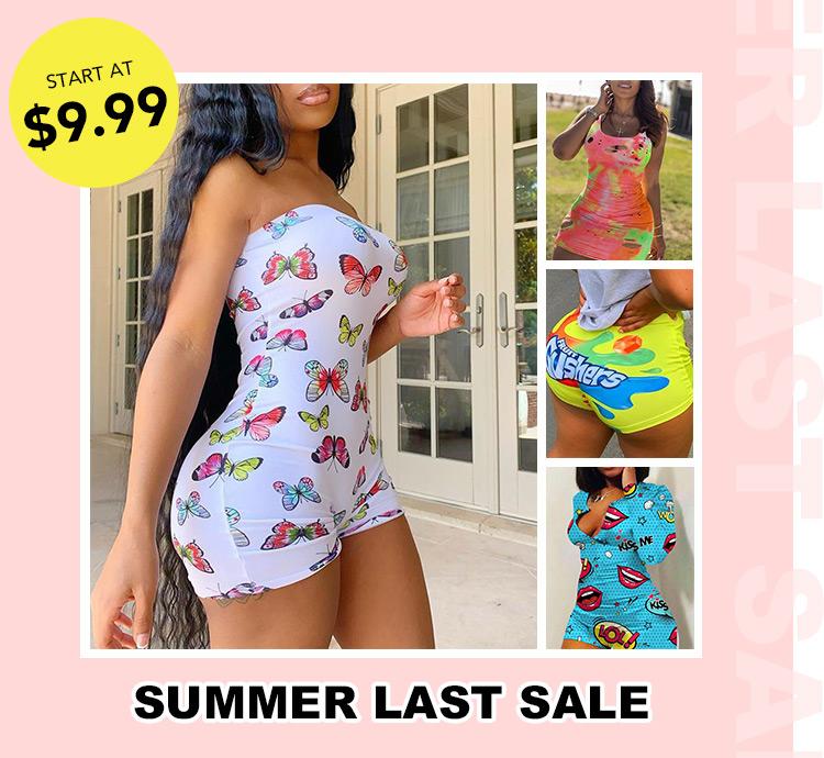 Summer Last Sale ,Start At 9.99