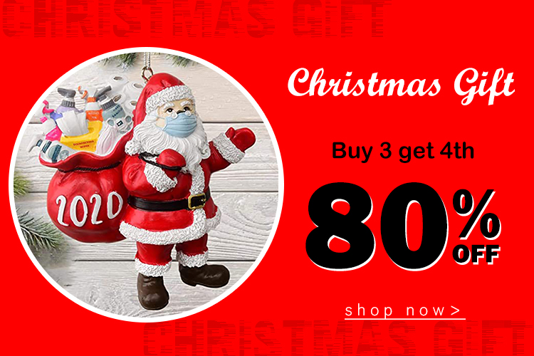 Christmas Gift: Buy 3 get 4th 80% off