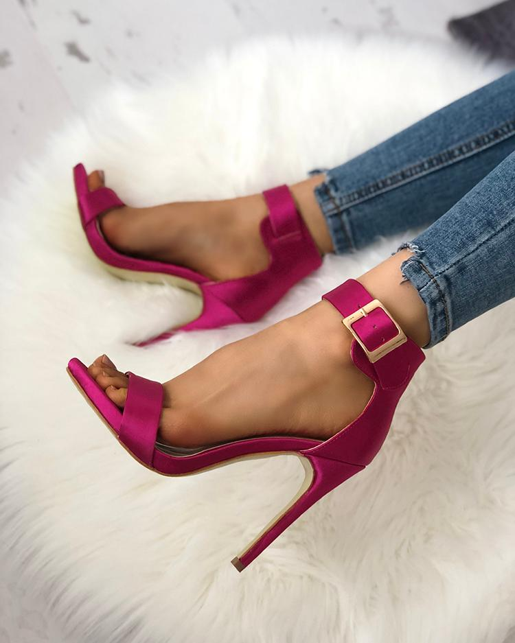 Joyshoetique coupon: Fashion Open Toe Cocktail Party Thin Heel Pump