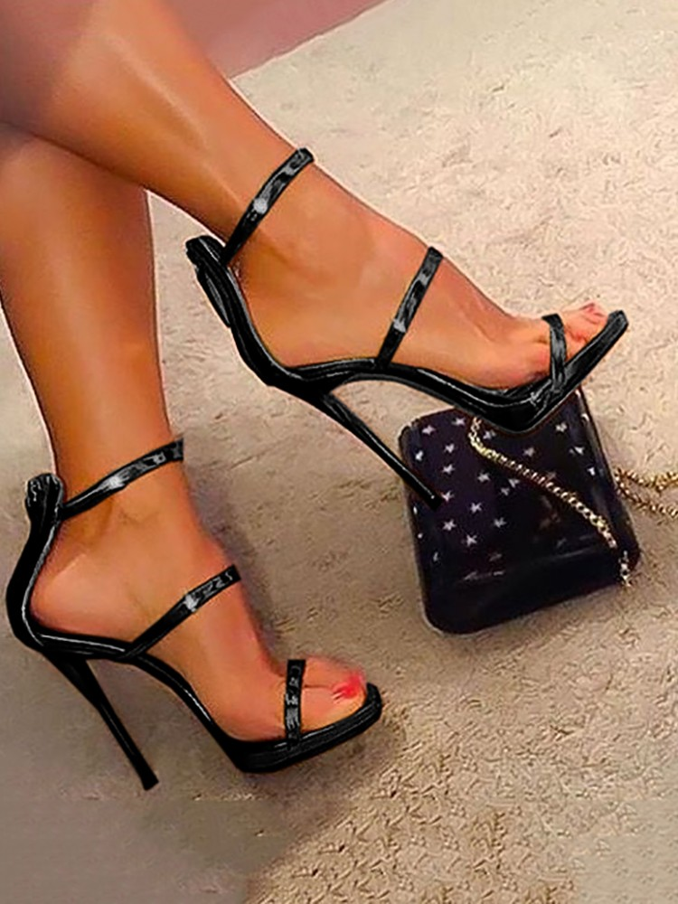thats just fabulous   Heels, Strappy sandals heels