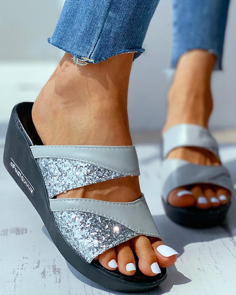 Studded Open Toe Heeled Sandals thumbnail
