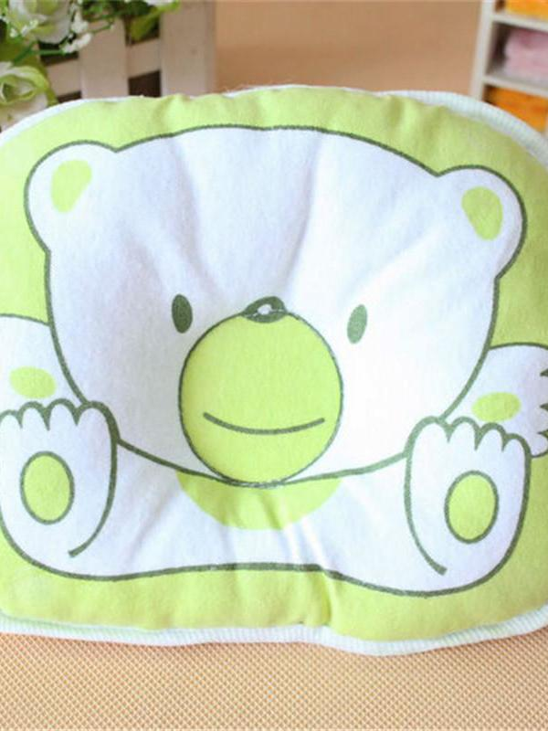 Newborn Infant Soft Neck Support Print Bear Head Shape Baby Shaping Pillow thumbnail