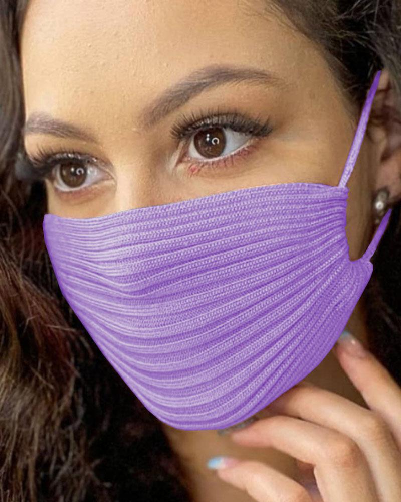 Breathable Plain Cotton Face Mask