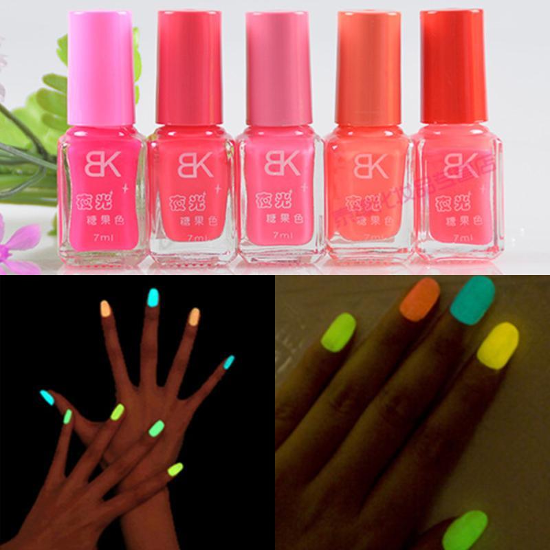Neon Nail Polish Online: Stylish Women Beauty Solid Color Cheap Neon Florescent
