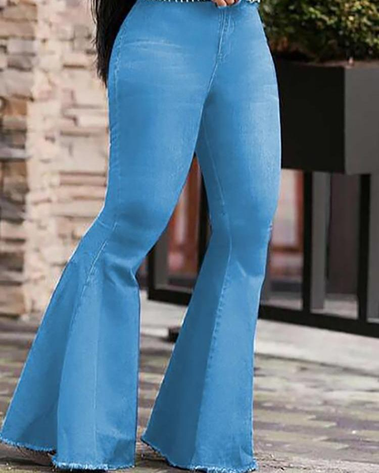 Image result for bell bottom jeans look