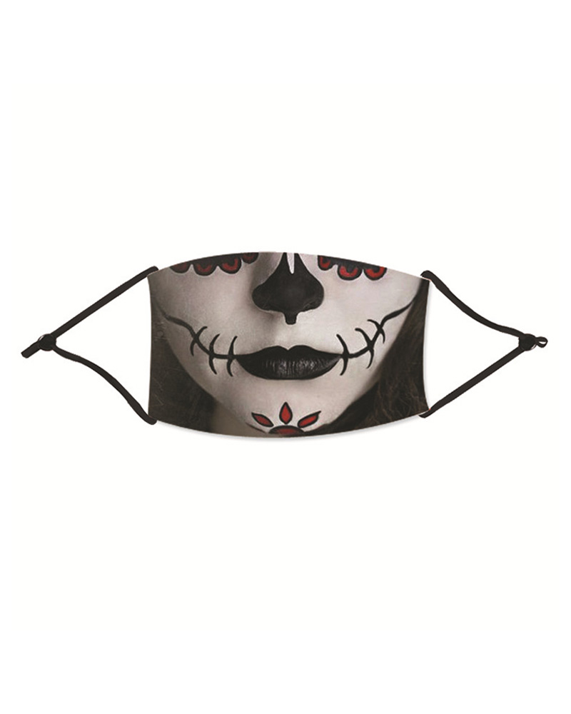 Halloween Ghost Print Washable Reusable Cotton Face Mask thumbnail