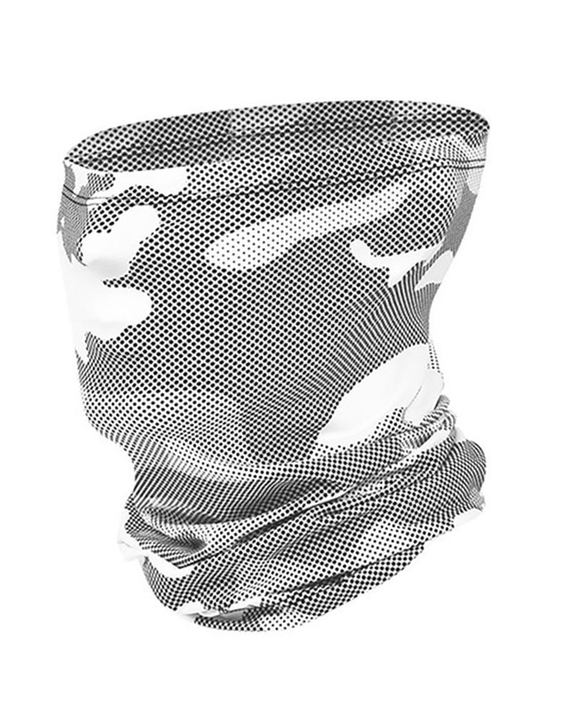 Camouflage Print Breathable FaceBandana Headwrap thumbnail