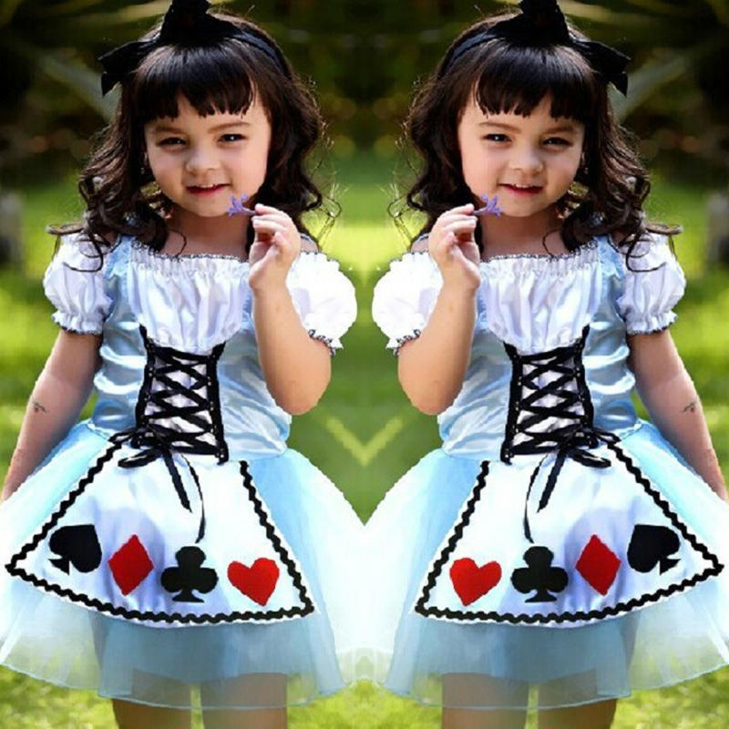 Kids Alice's Adventures in Wonderland Costume Dresses thumbnail