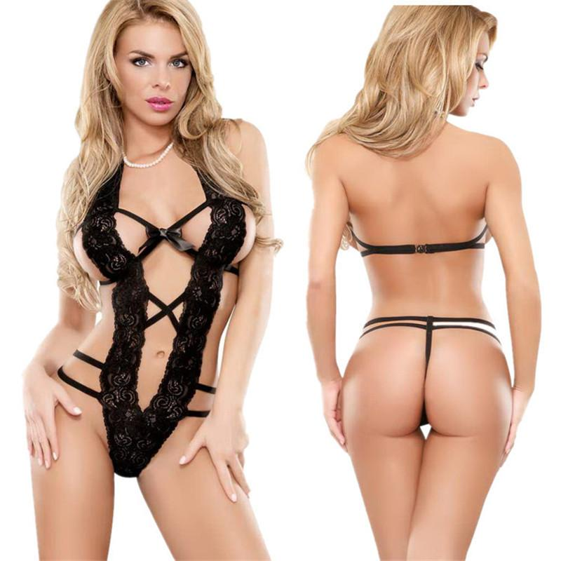 2016 Valentines Day Women's 1 PC Sexy Perspective Lingerie Honeymoon R