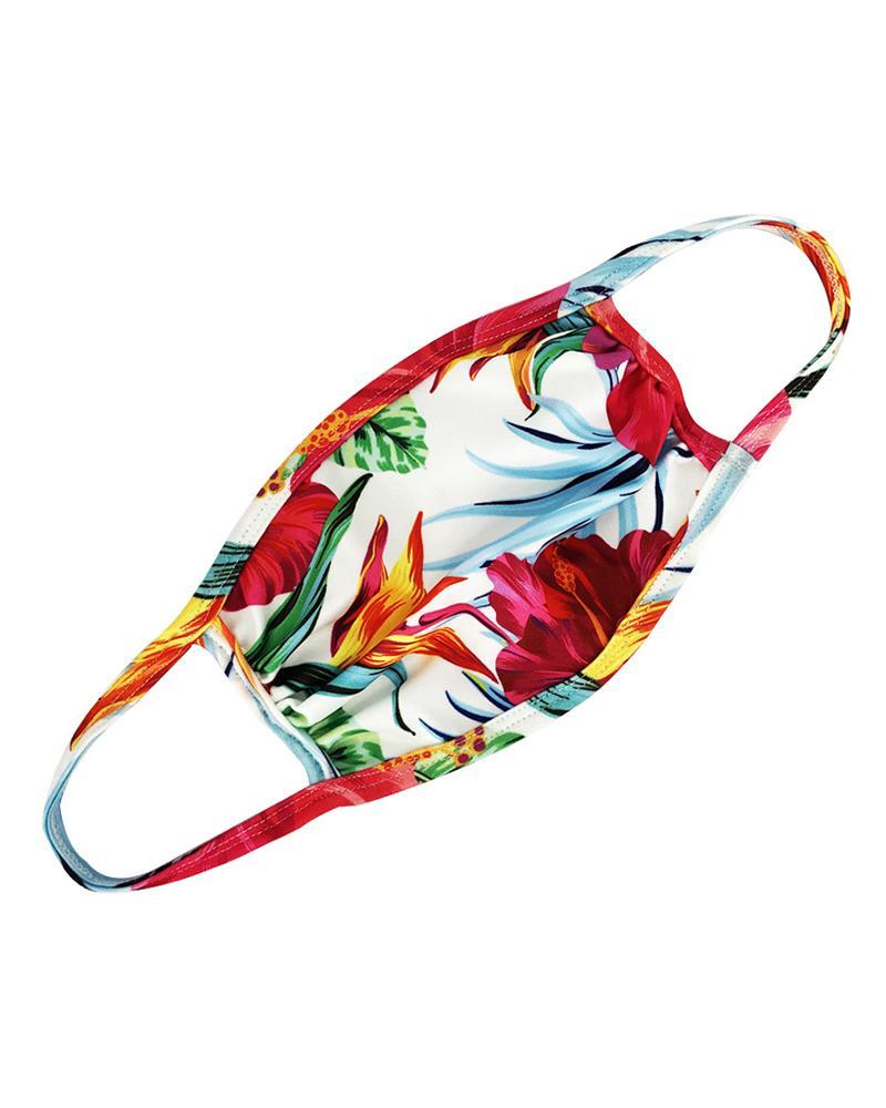 Floral / Tie Dye Print Ear Loop Breathable Mouth Mask thumbnail