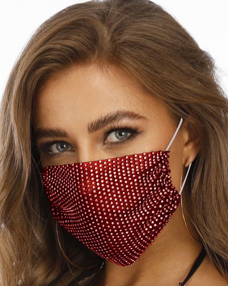Studded Breathable Mouth Mask Washable And Reusable thumbnail