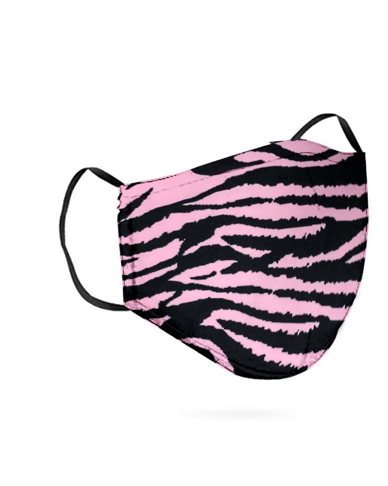 Zebra Print Breathable Mouth M .a. s. k Washable And Reusable thumbnail