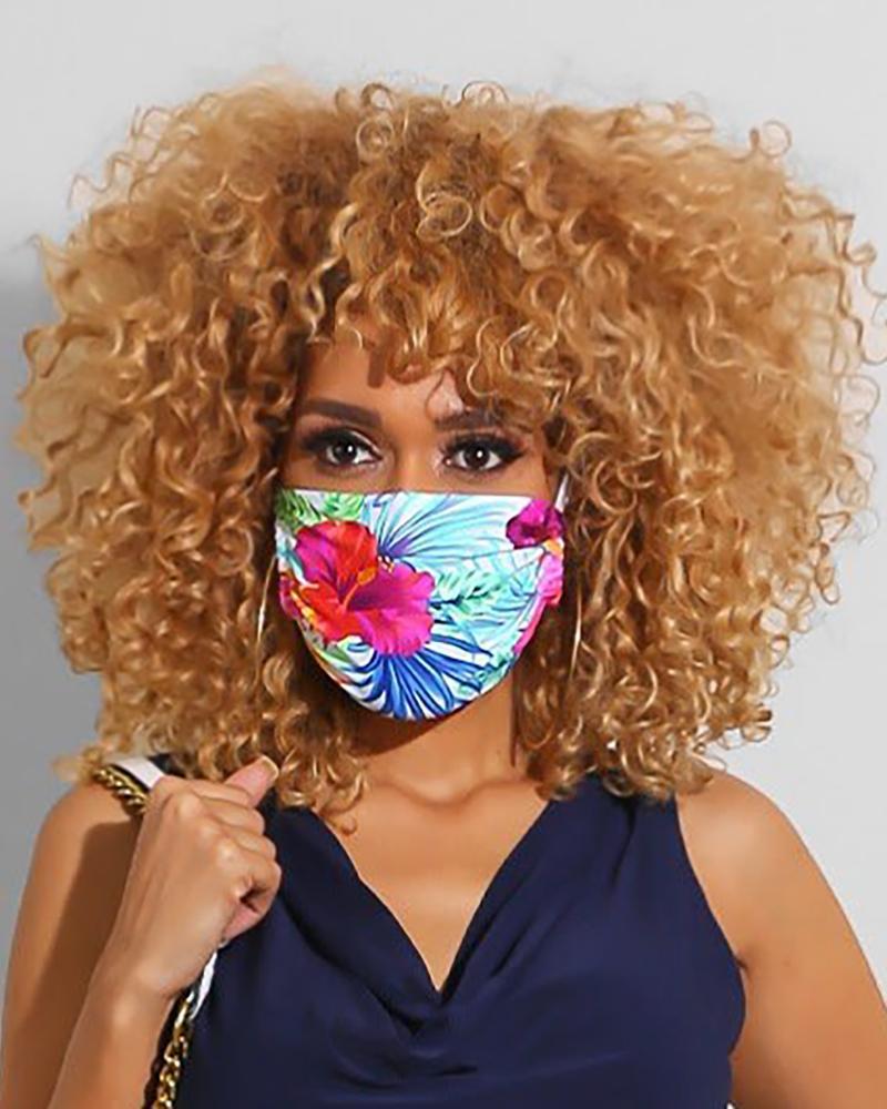Print Breathable Mouth Mask Washable And Reusable thumbnail