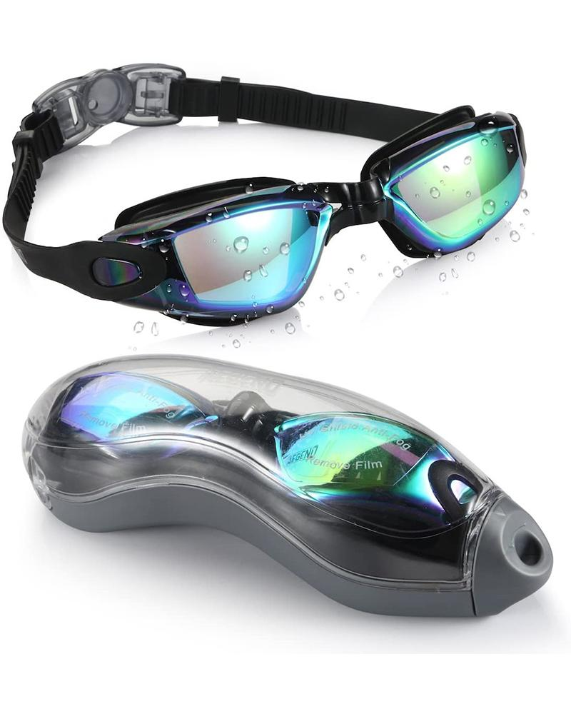 Swimming Goggles No Leaking Anti Fog UV Protection thumbnail