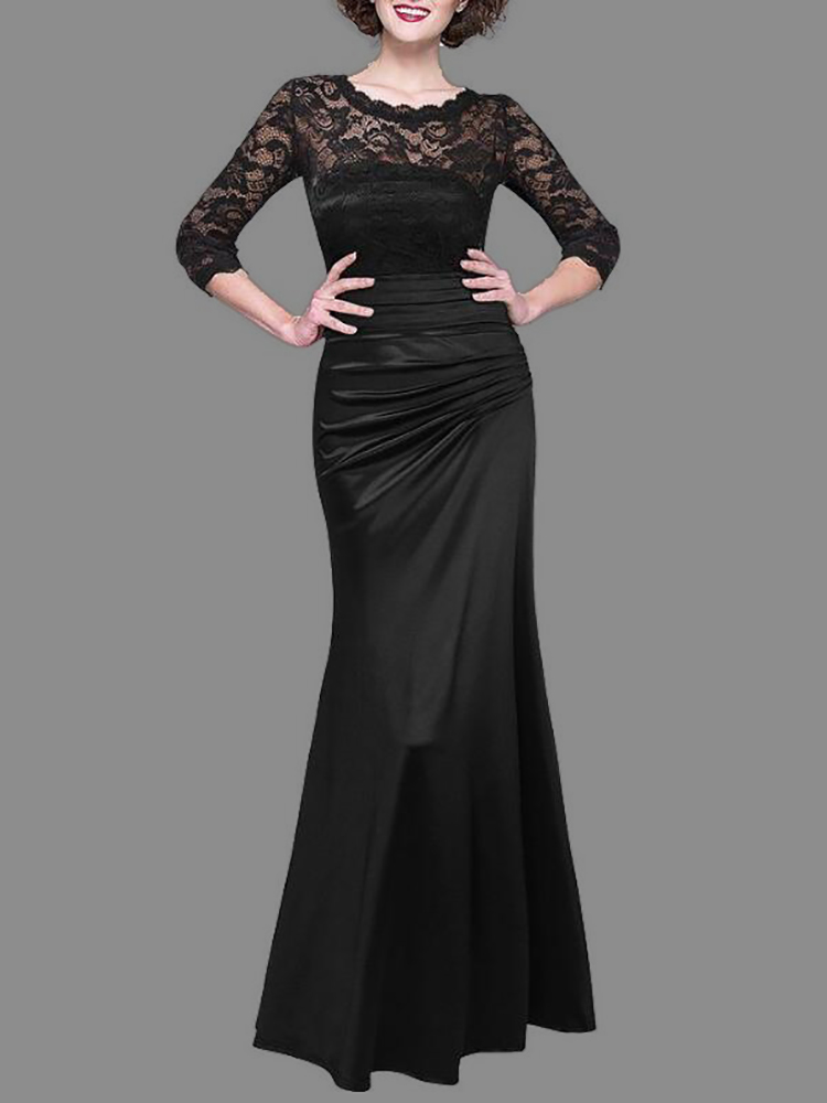e25b678bf2dc Women Lace Crochet Pleated Maxi Dress Online. Discover hottest trend ...