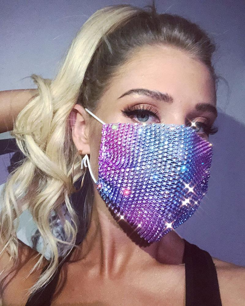 Studded Breathable Mouth Mask Reusable thumbnail