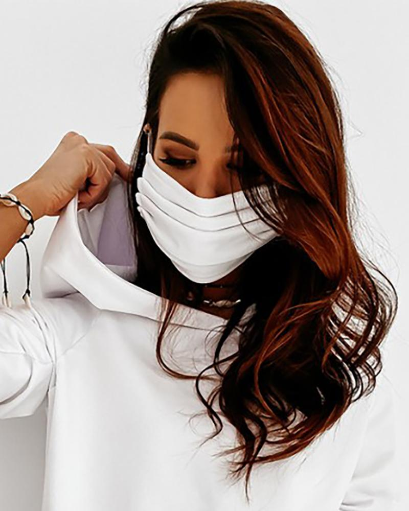 Candy Color Breathable Cotton Ear Loop Mouth Mask thumbnail