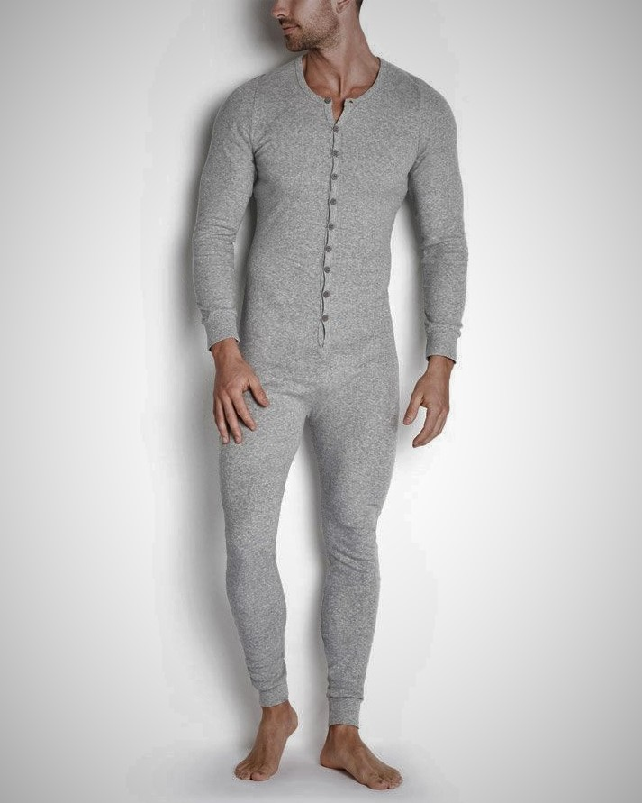 Solid Color Long Sleeve Jumpsuit, Light gray
