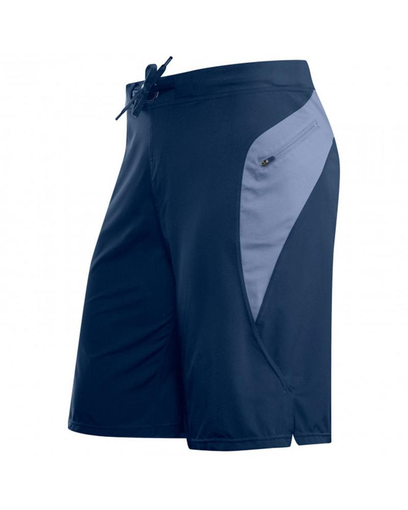 Colorblock Loose Drawstring Speed Dry Shorts