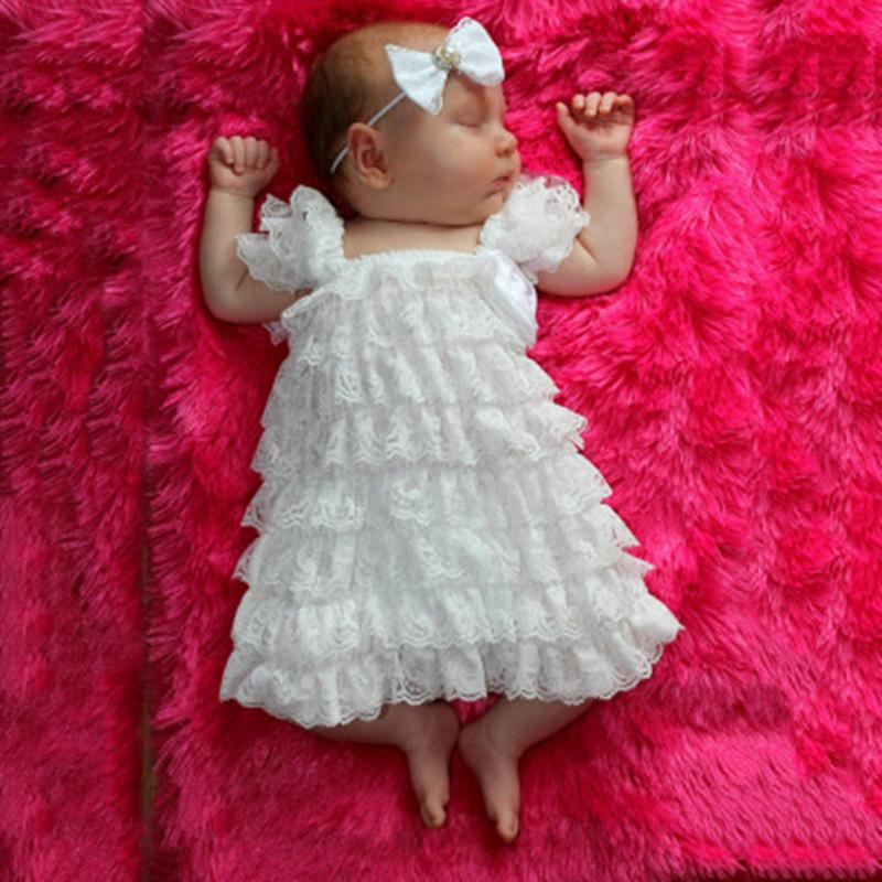 Baby Girl's Cute Lace Dresses Casual Dresses 2016 Summer Fashion Kids Princess Dress thumbnail