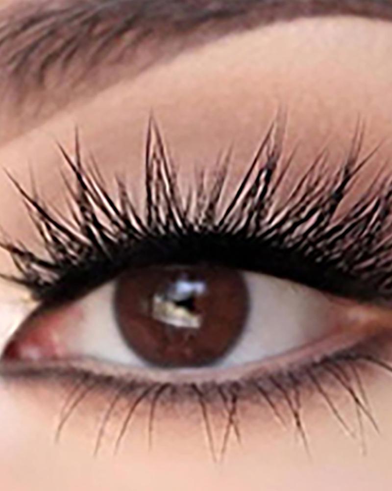 3 Pairs 3D Natural Curly False Eyelashes