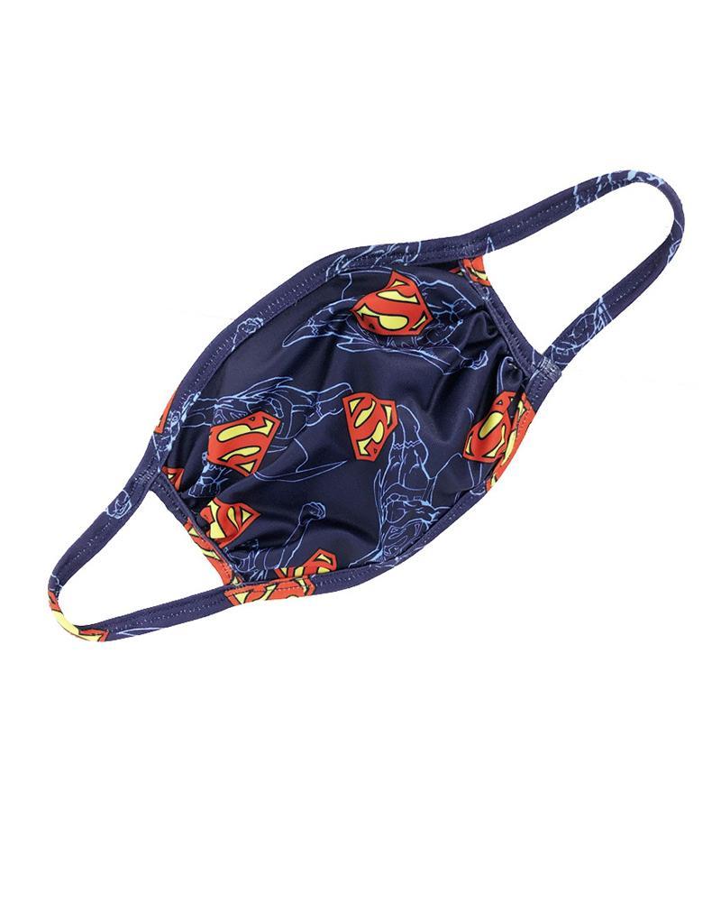 Superman / Tie Dye Print Colorblock Ear Loop Breathable Mouth Mask thumbnail