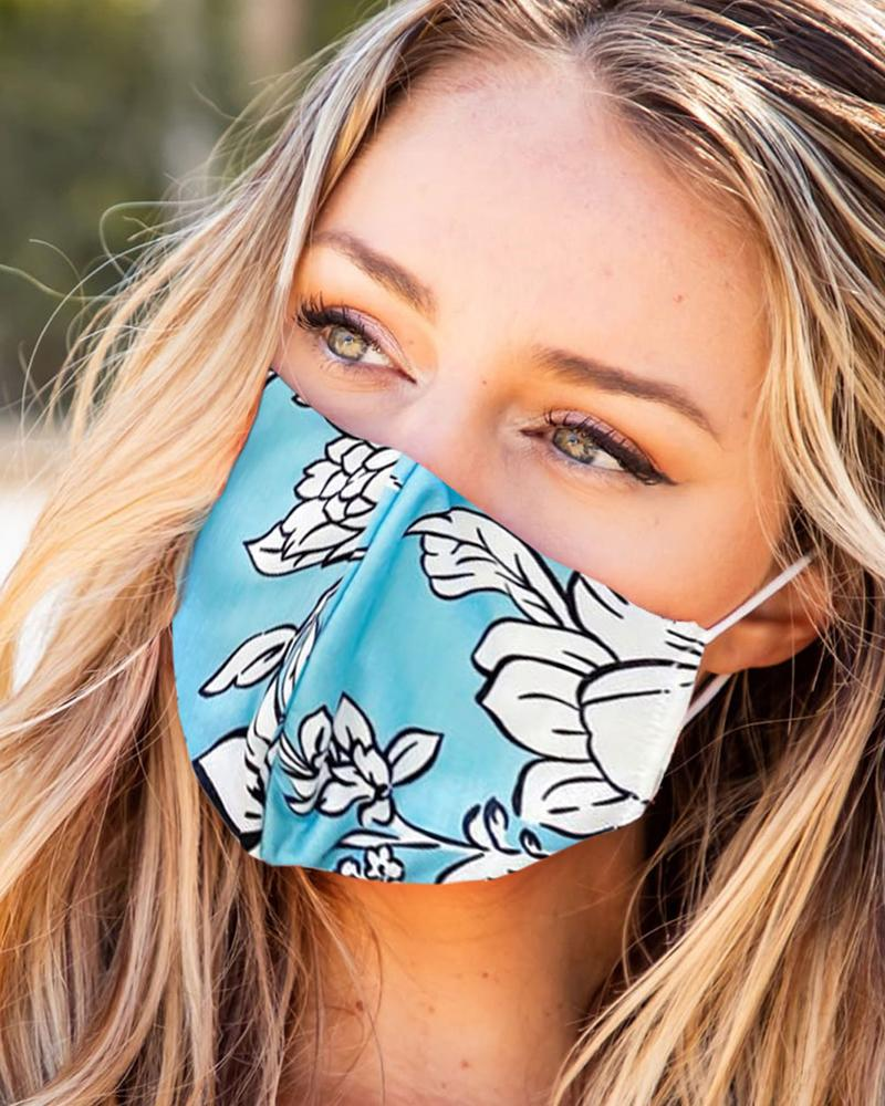 Print Breathable Mouth Mask Washable And Reusable thumbnail