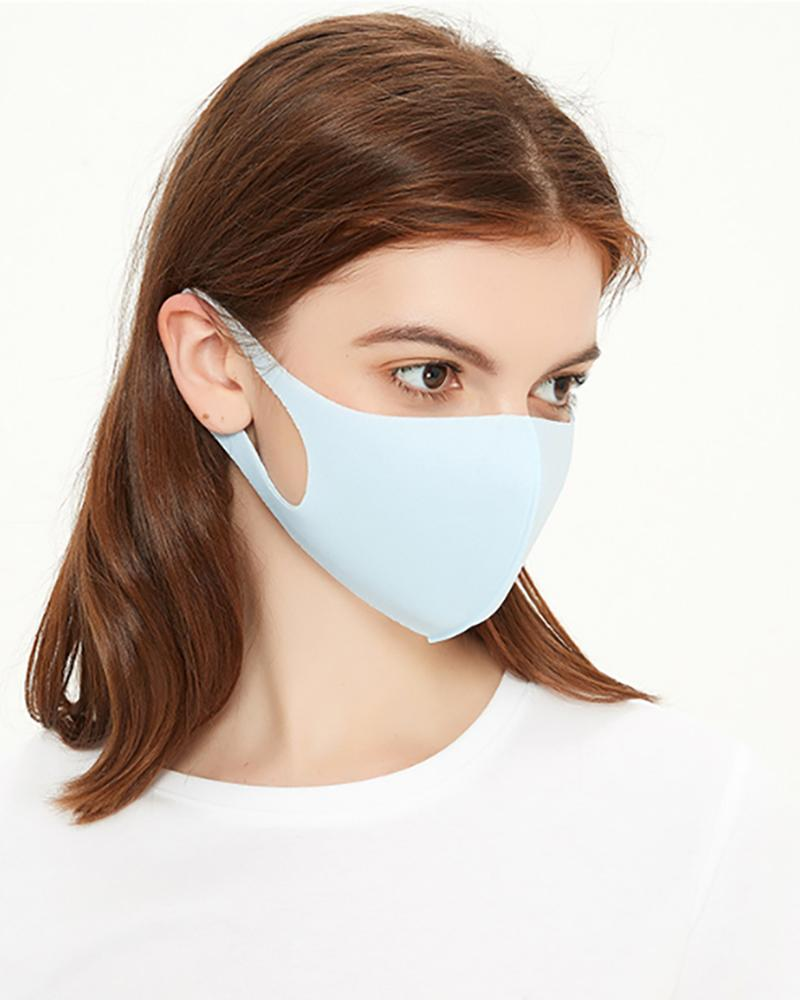 Ice Silk Breathable Mouth Mask Washable And Reusable thumbnail