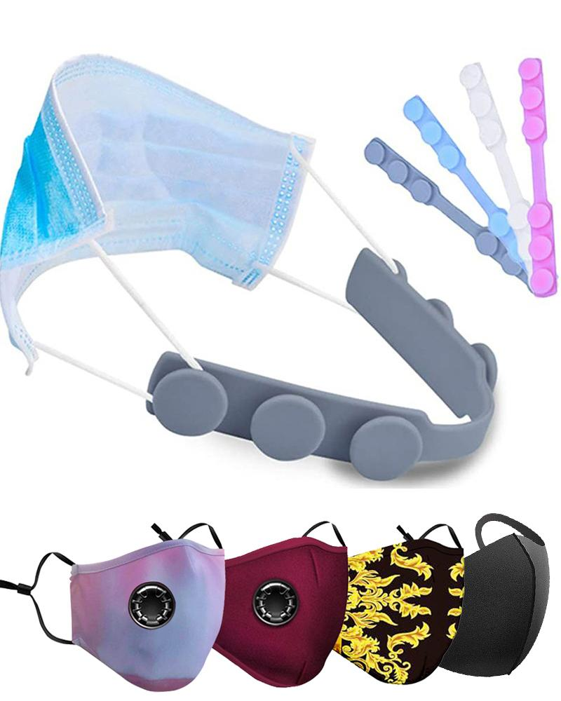 Silicone Mask Strap Extender Anti-Tightening Mask Holder Hook Ear Strap thumbnail