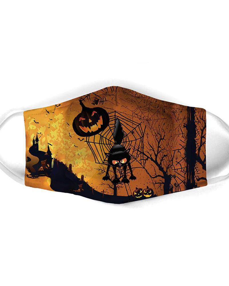 Halloween Mixed Print Breathable Mouth Mask thumbnail