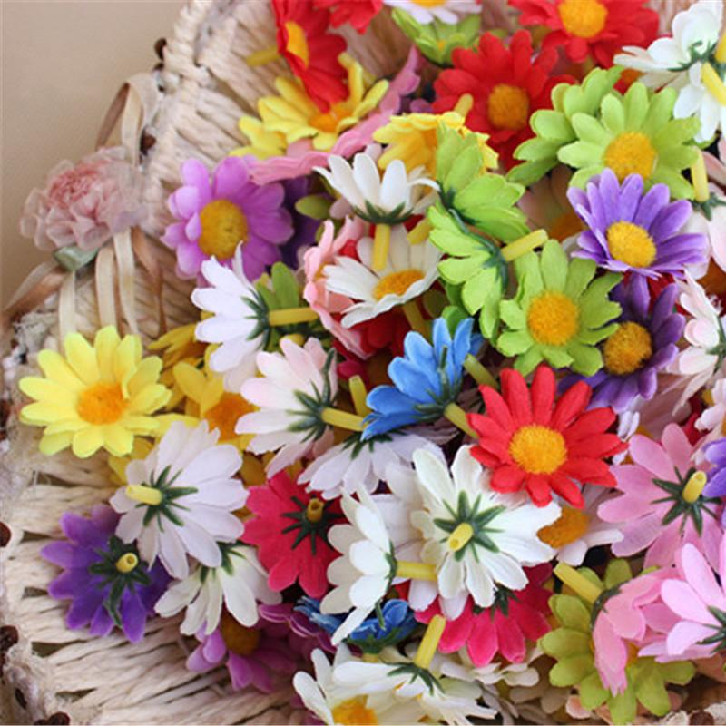 party 10pcs/package Handmade Sunflower Daisy Paper Pom Poms Paper Flowers Ball pompom wedding Birthday Decoration Parties thumbnail