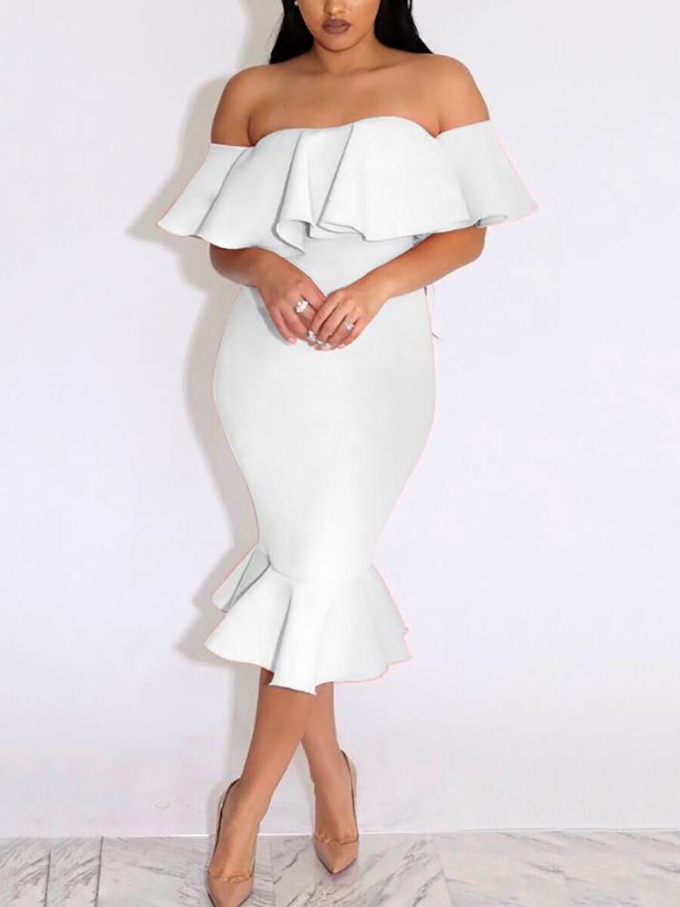 Elegant Off the Shoulder Dresses