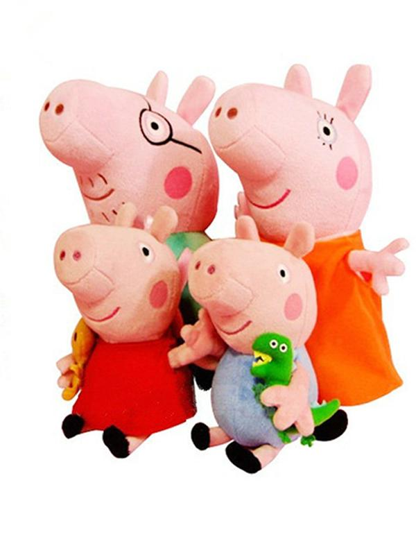 Toy Peppa Pig Plush Doll Stuffed Toy Gift Baby Plush Toys Caroon Toys Baby Pig