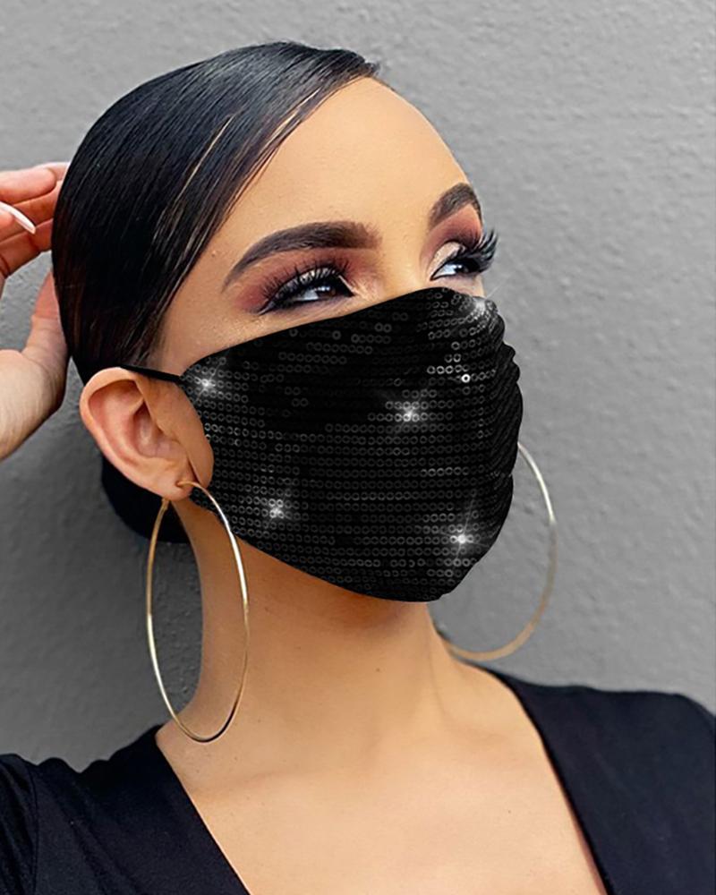Sequins Breathable Mouth Mask Reusable thumbnail
