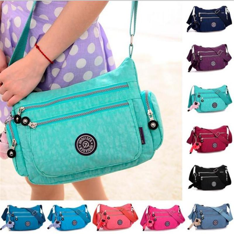 Fancy Women Handbag Lady Shoulder Bag Tote Purse Nylon Messenger Hobo Bag thumbnail