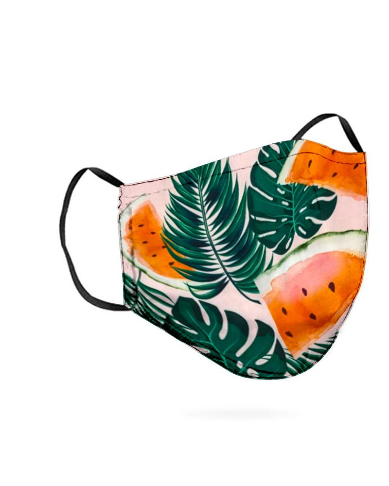 Leaf Print Breathable Mouth M .a. s. k Washable And Reusable thumbnail