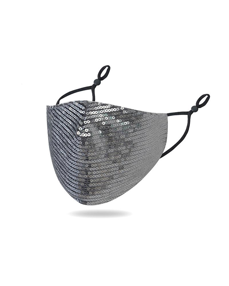 Multicolor Gradient Glitter Earloop Mouth Mask thumbnail