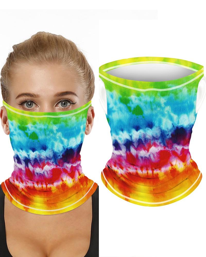 erthome 25 PCS Black Face Bandana Breathable Cloth Outdoor Use